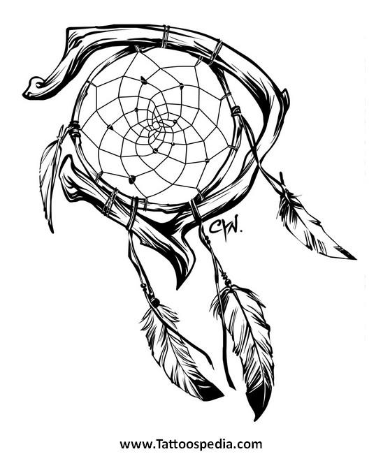 548x650 Small Dreamcatcher Tattoo Tumblr 1