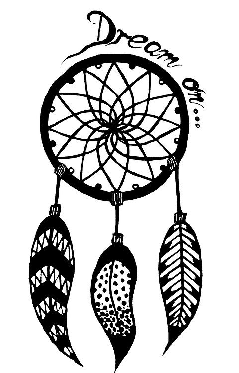 Dream Catchers Drawing