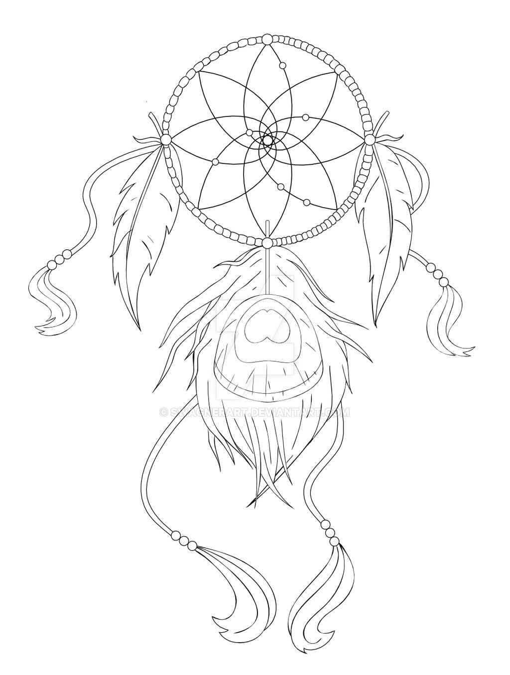 1024x1356 Dreamcatcher Tattoo Design By Swagnerart