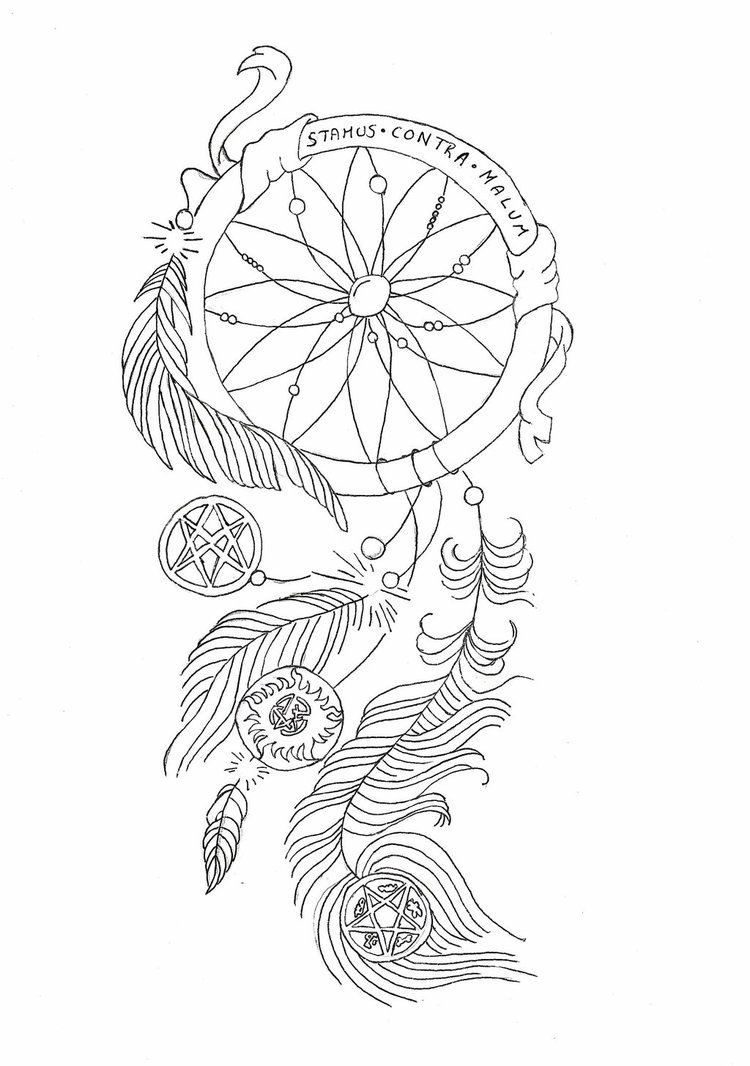 750x1066 Supernatural Dream Catcher By Toxiccottoncandy