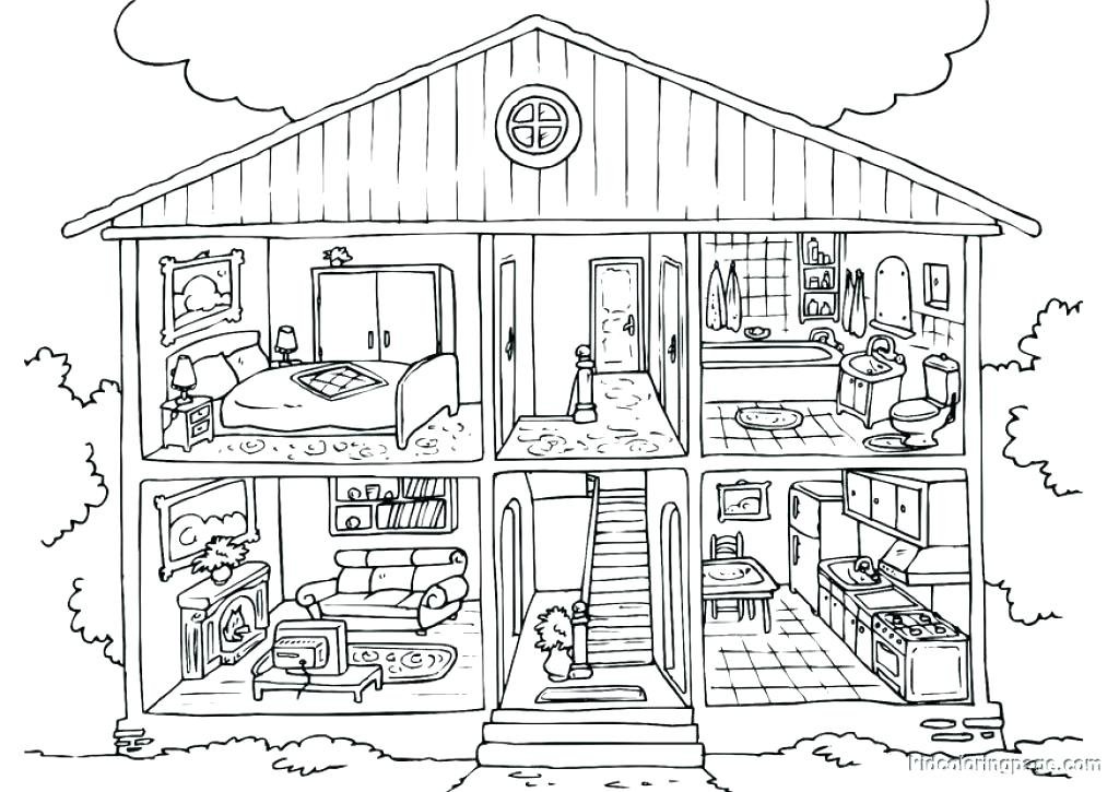 Dream Home Drawing at GetDrawings