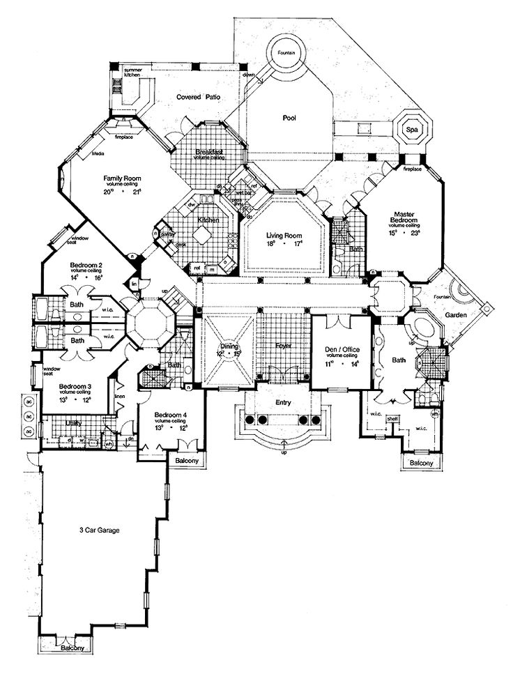 736x977 107 Best House Plans Images On Pinterest Dream House Plans, My