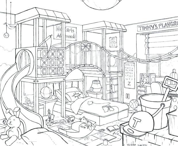 620x509 Easy To Draw Bedroom Betweenthepagesclub