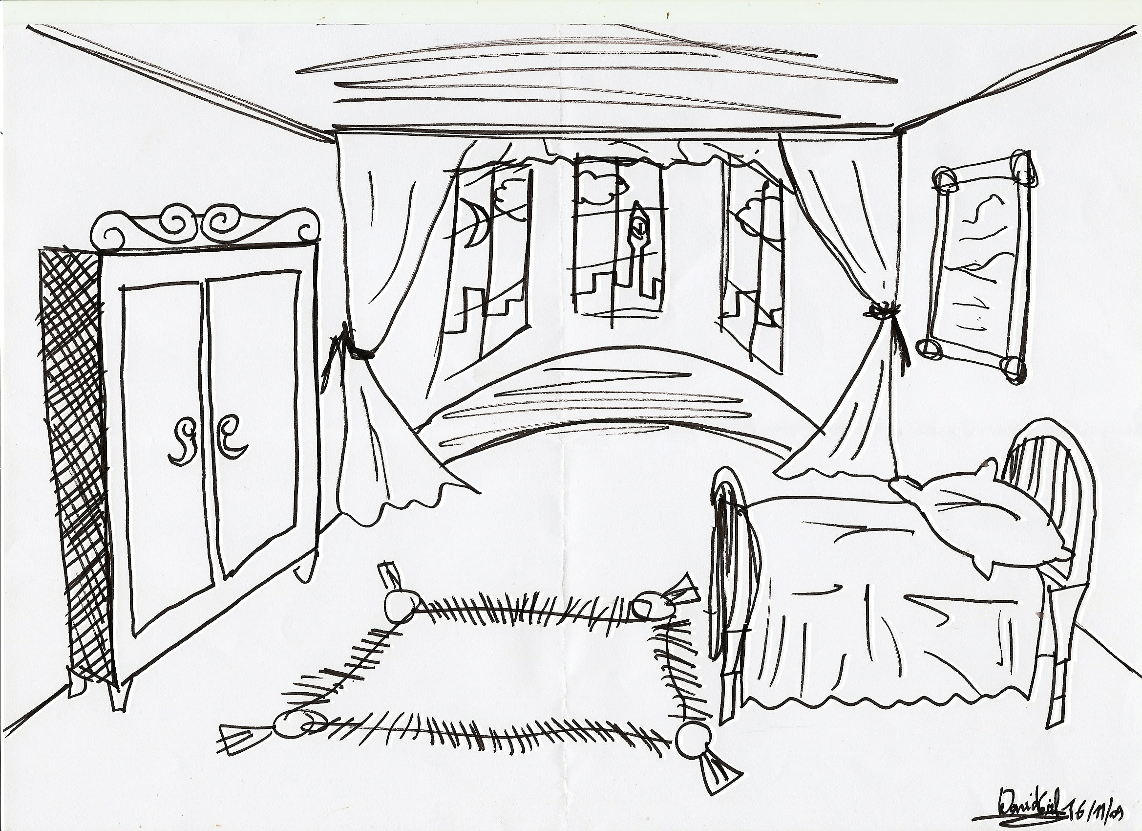 Dream Room Drawing at GetDrawingscom Free for personal use Dream