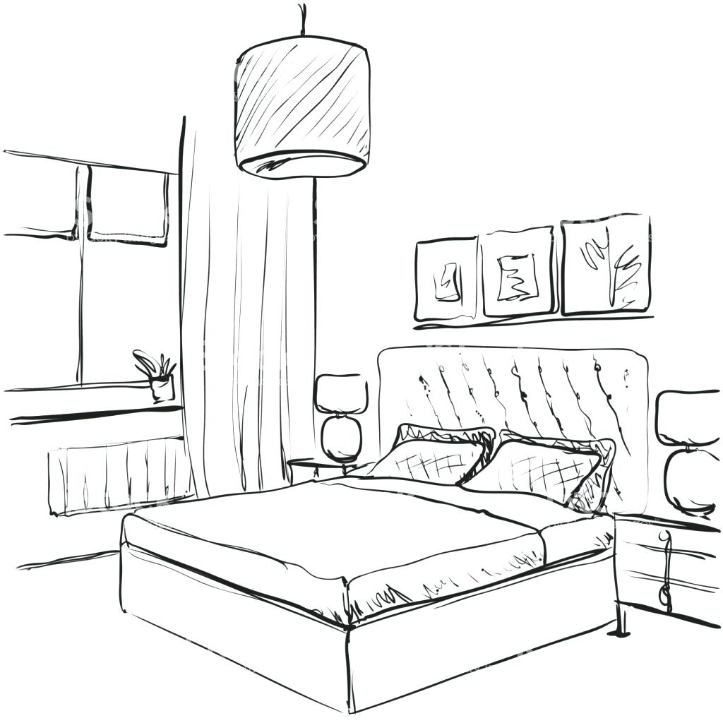 1024x1024 Bedroom Sketch Dream Bedroom Sketch Bedroom Ideas Pictures Art