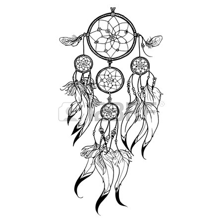 450x450 4,532 Dreamcatcher Cliparts, Stock Vector And Royalty Free