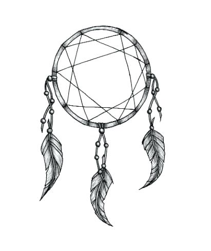 411x489 Interesting Simple Dream Catcher Simple Drawing How To Draw A Step