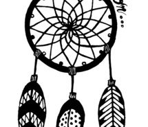 215x185 Inspiring Picture Dreamcatcher, Dreams, Dreaming, Drawing, Black