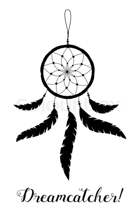 533x800 American Indians Amulet. Dream Catcher With Feathers And Beads