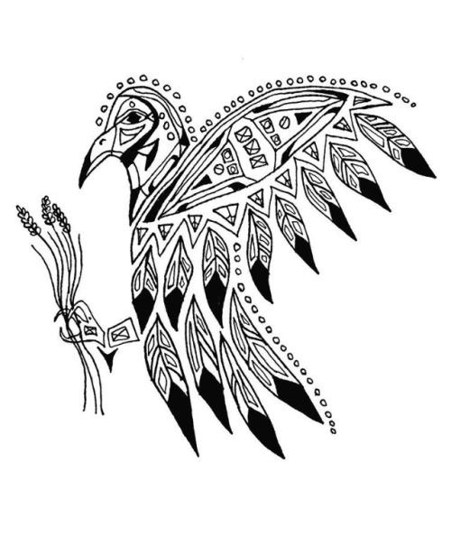 500x595 Native American Drawings Tumblr