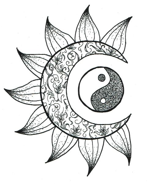 500x599 Tattoo Yin Yang Tumblr