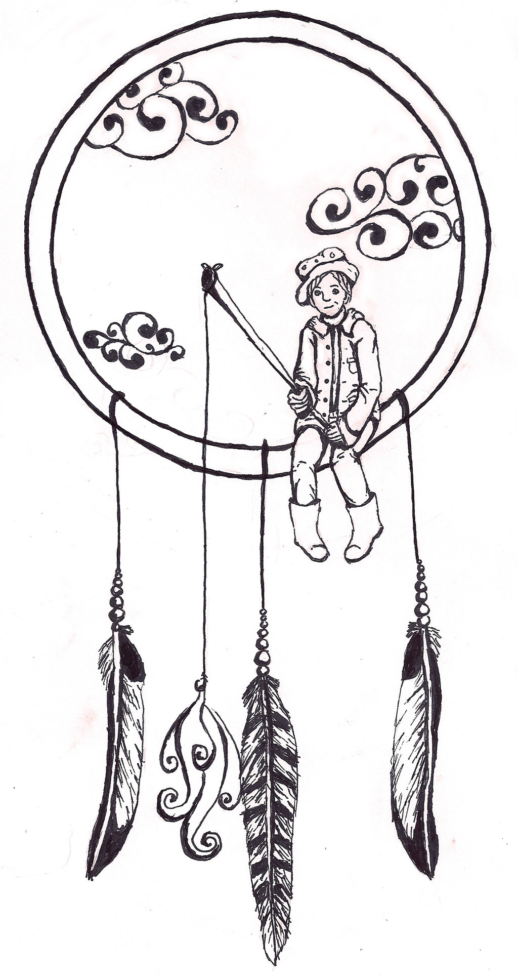 1024x1934 Dream Catcher By Saphariadragon