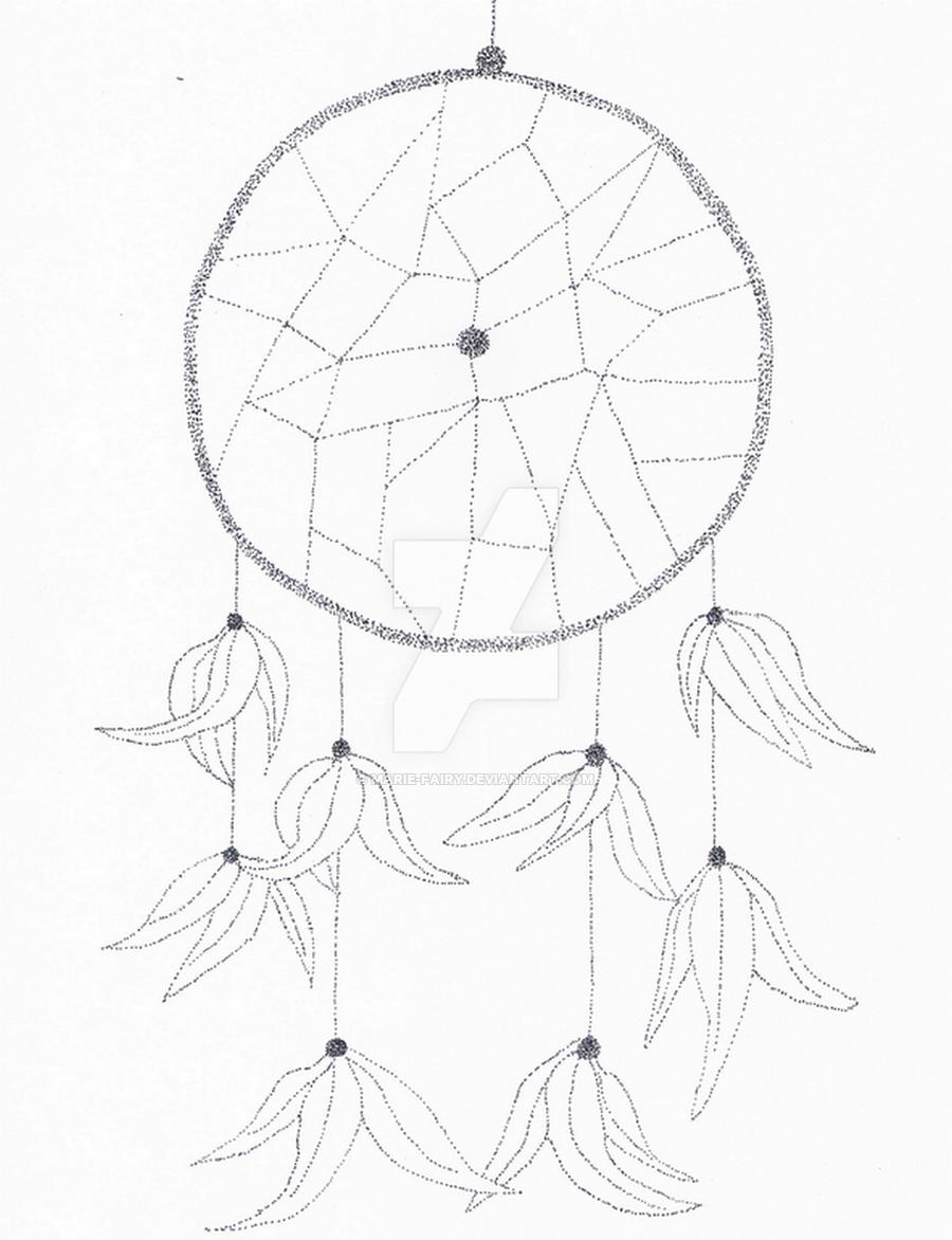 900x1172 Dream Catcher By Marie Fairy