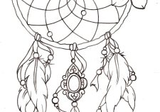 225x158 Dream Catcher Tattoo Ideas Best Dream Catcher Tattoos
