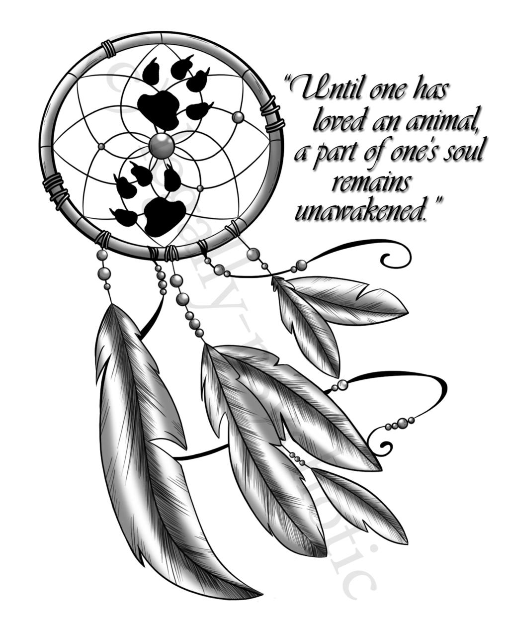 1024x1253 Dreamcatcher Tattoo ~ By Cranberry Zombie