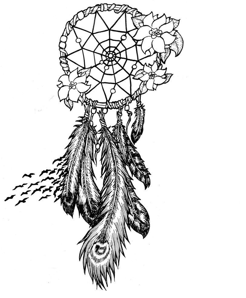 813x983 Dream Catcher Coloring Pages To Download And Print For Free
