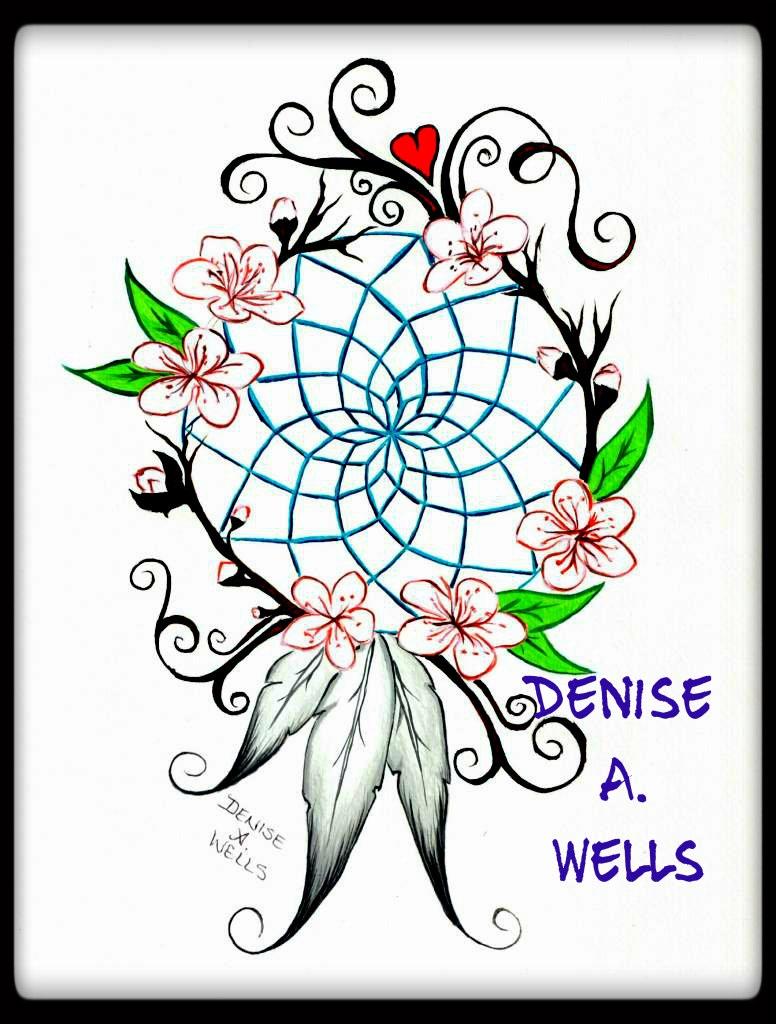 776x1024 Dreamcatcher Tattoo Design By Denise. Wells