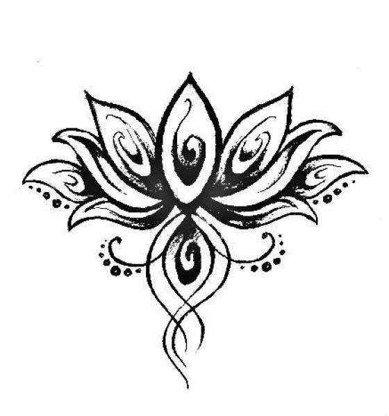 560x600 Geometric Tattoo