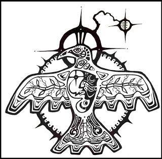 320x315 Ojibwe Dreamcatcher Drawings Norval Morrisseau Blog Art