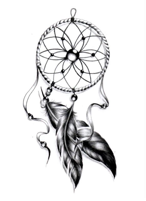 570x784 Sets Dream Catcher Temporary Tattoos