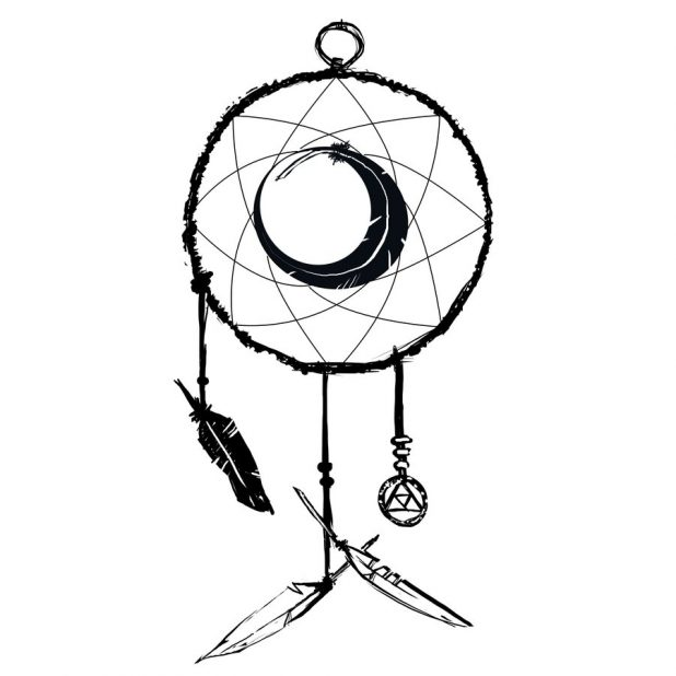 Dreamcatcher Tattoo Drawing At Getdrawingscom Free For