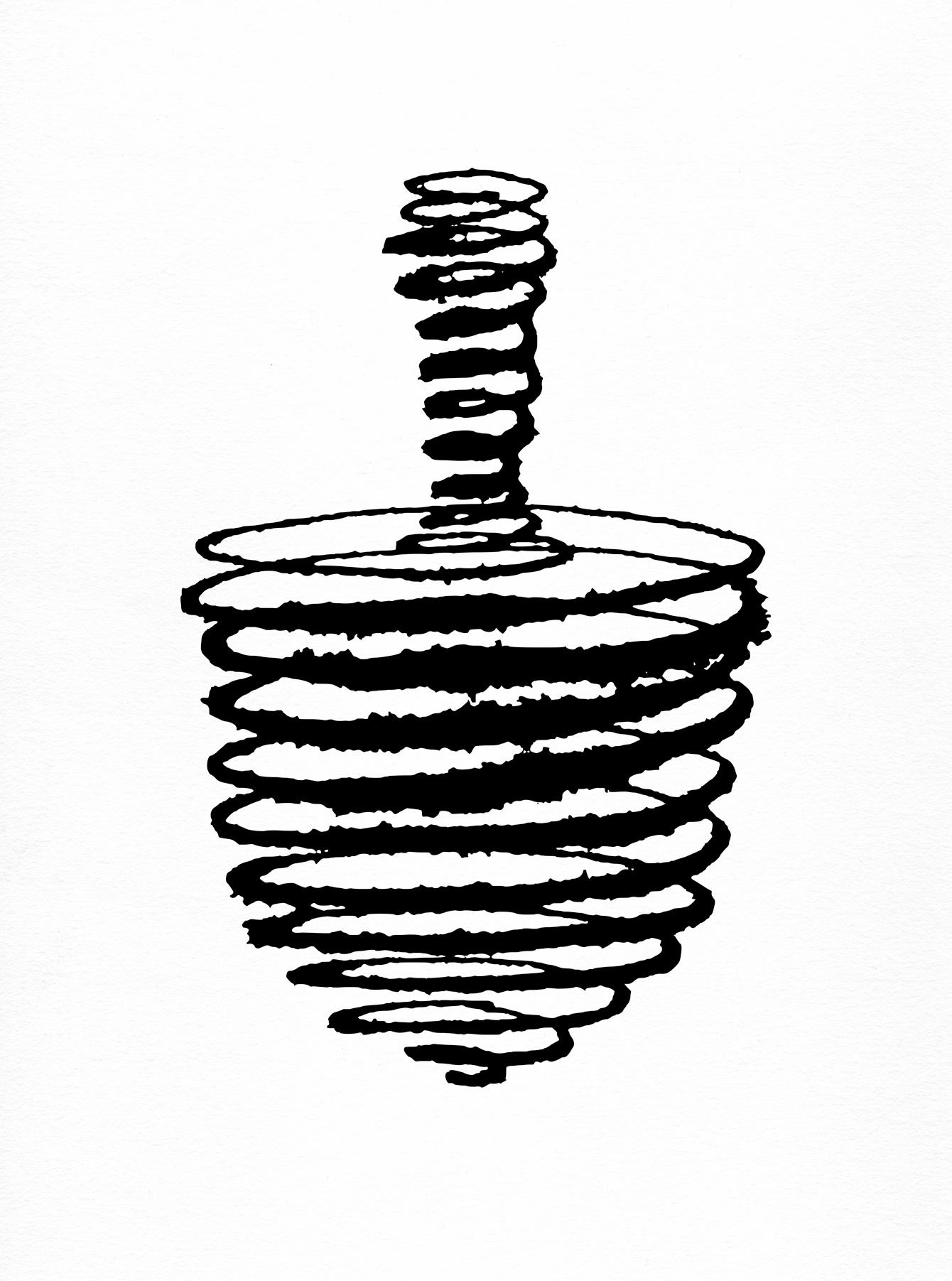Dreidel Drawing at GetDrawings.com | Free for personal use Dreidel ...