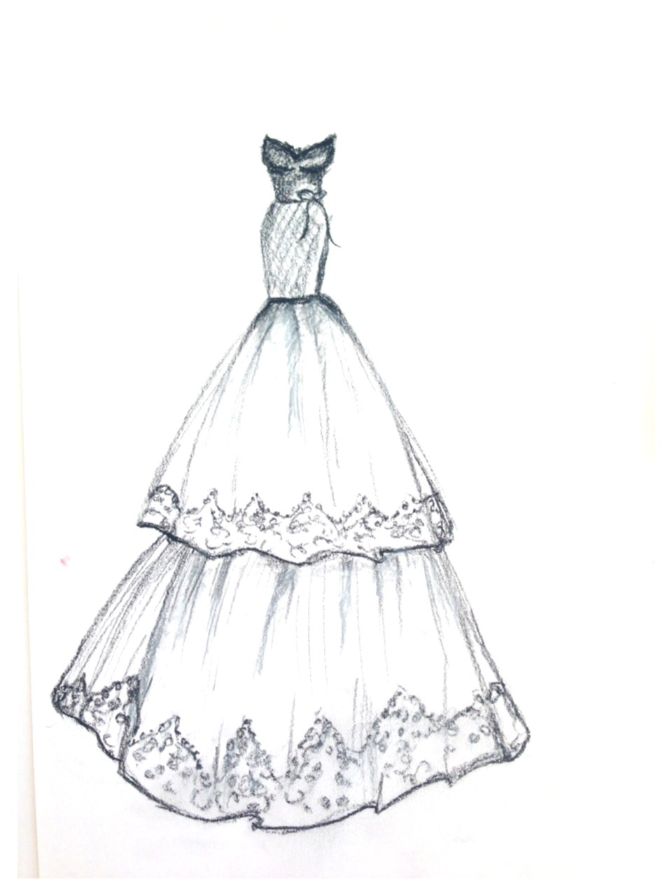 960x1280 Dress Designs Drawings