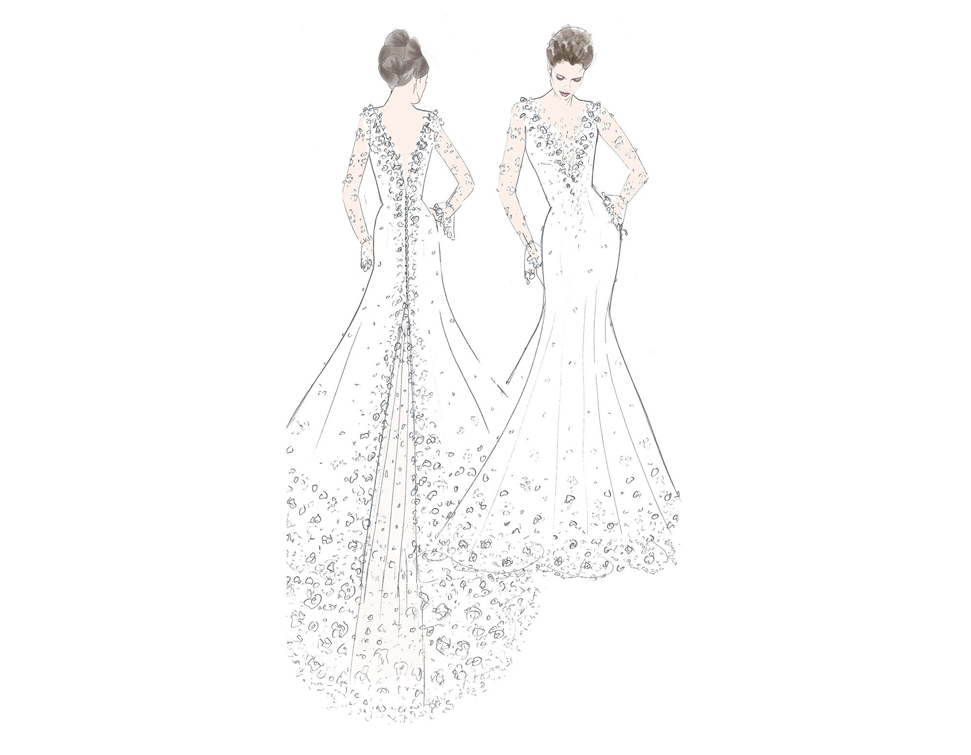 Dress Designs Drawing
