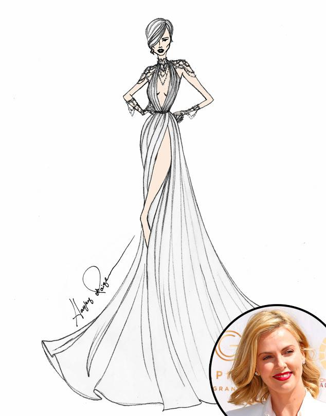 634x810 Angel Sanchez From Designer Wedding Dress Sketches For Sofia