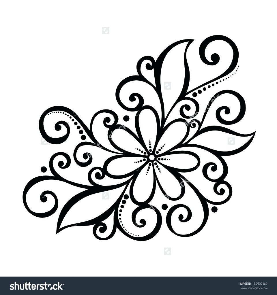 960x1024 Decoration Cool Designs Drawings Flower Design For Drawing How