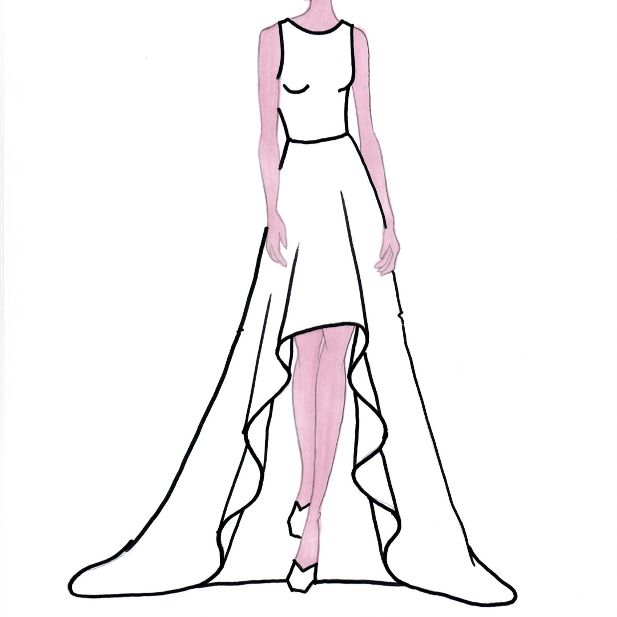 Dress Drawing