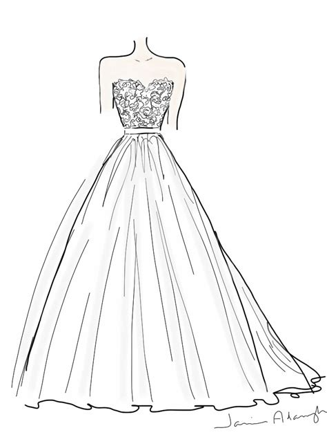 474x632 Gown Easy Drawing