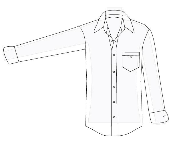 612x503 How To Alter A Men's Shirt, Part 1 Amy Alan Really Handmade