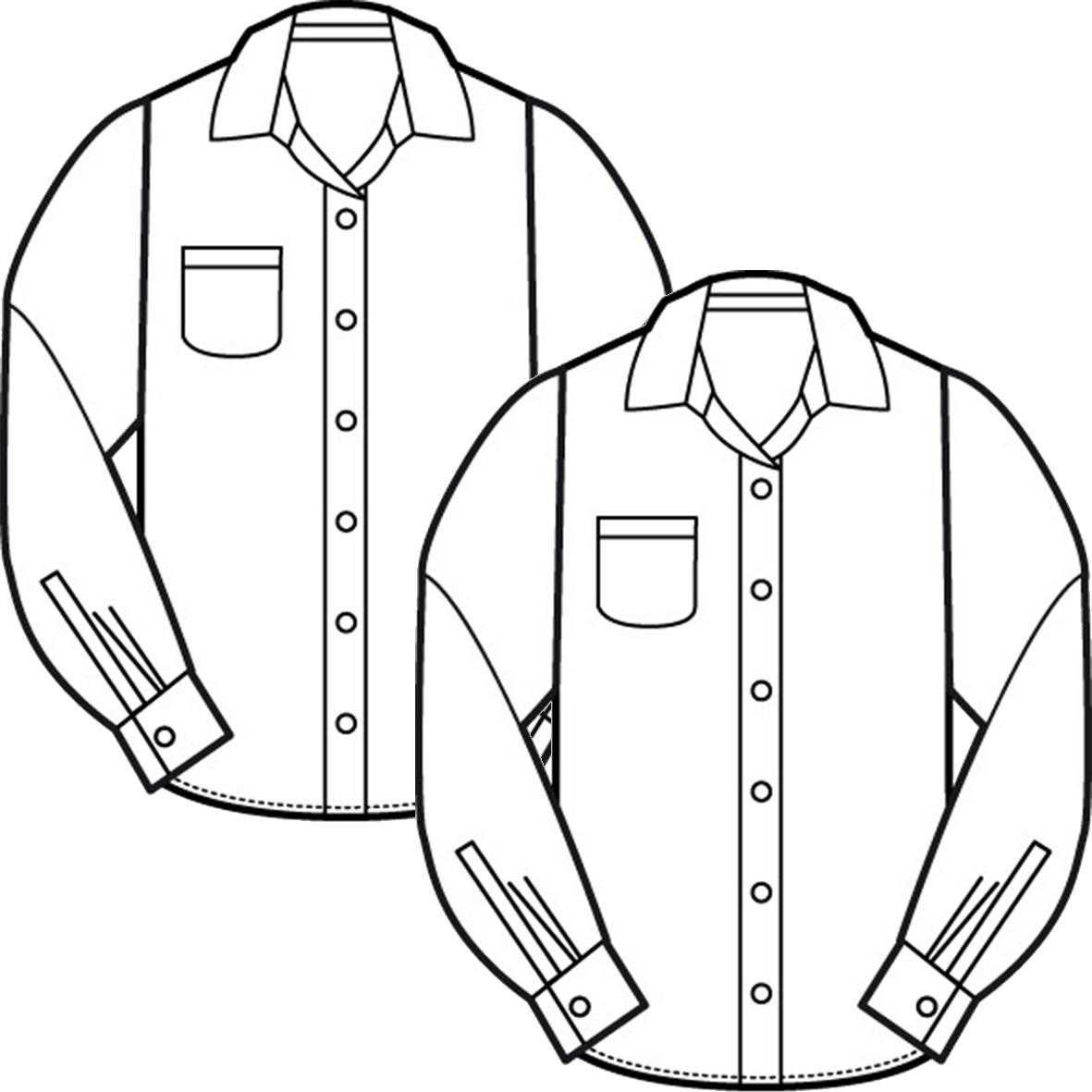1181x1181 Long Sleeve Shirts (2 Pack)
