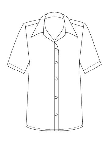 367x459 2162d Do P41 Short Sleeve Easy Fit Shirt The Lsj Collection