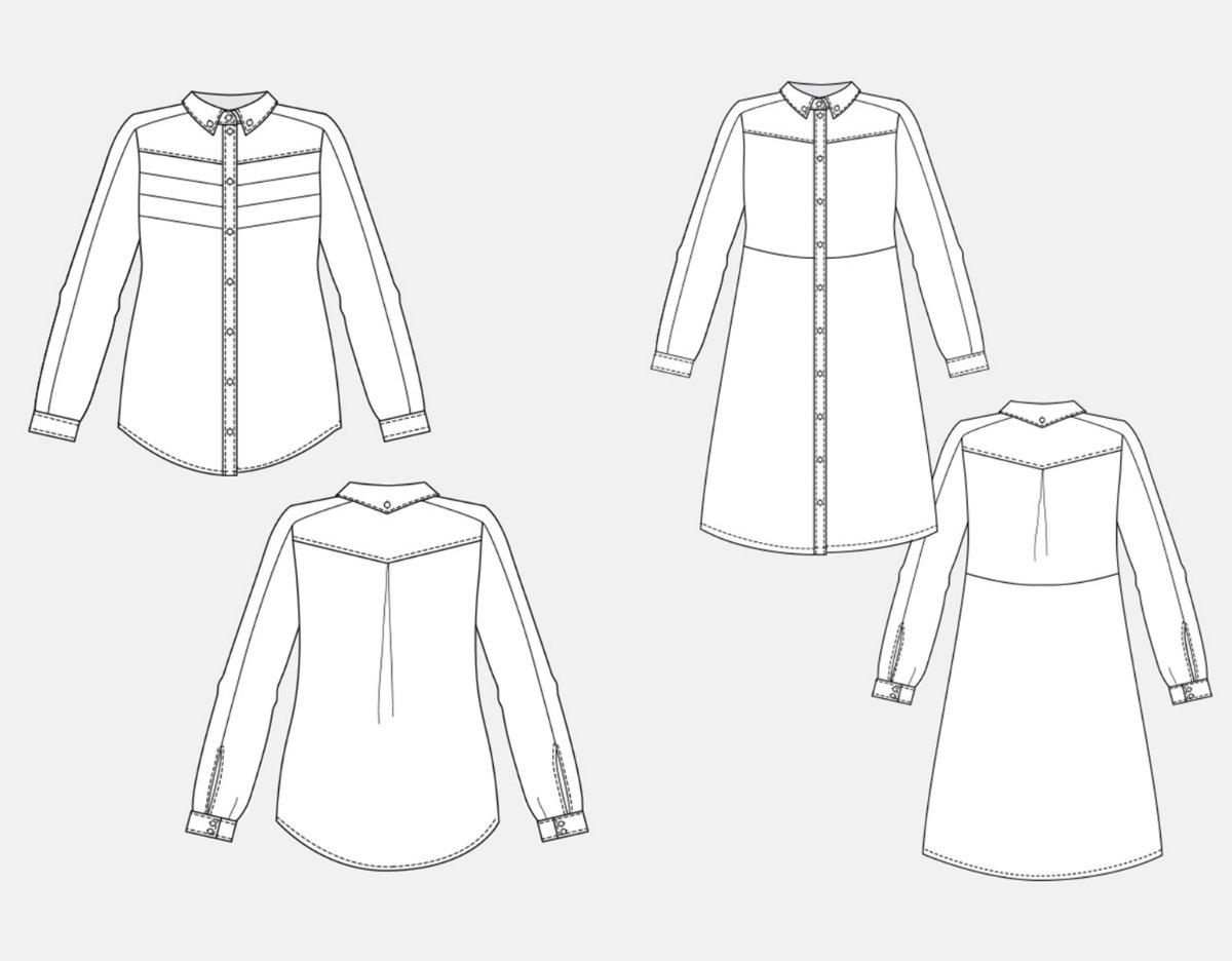 1200x936 Named Clothing 03 043 Wenona Shirtdress Downloadable Pattern