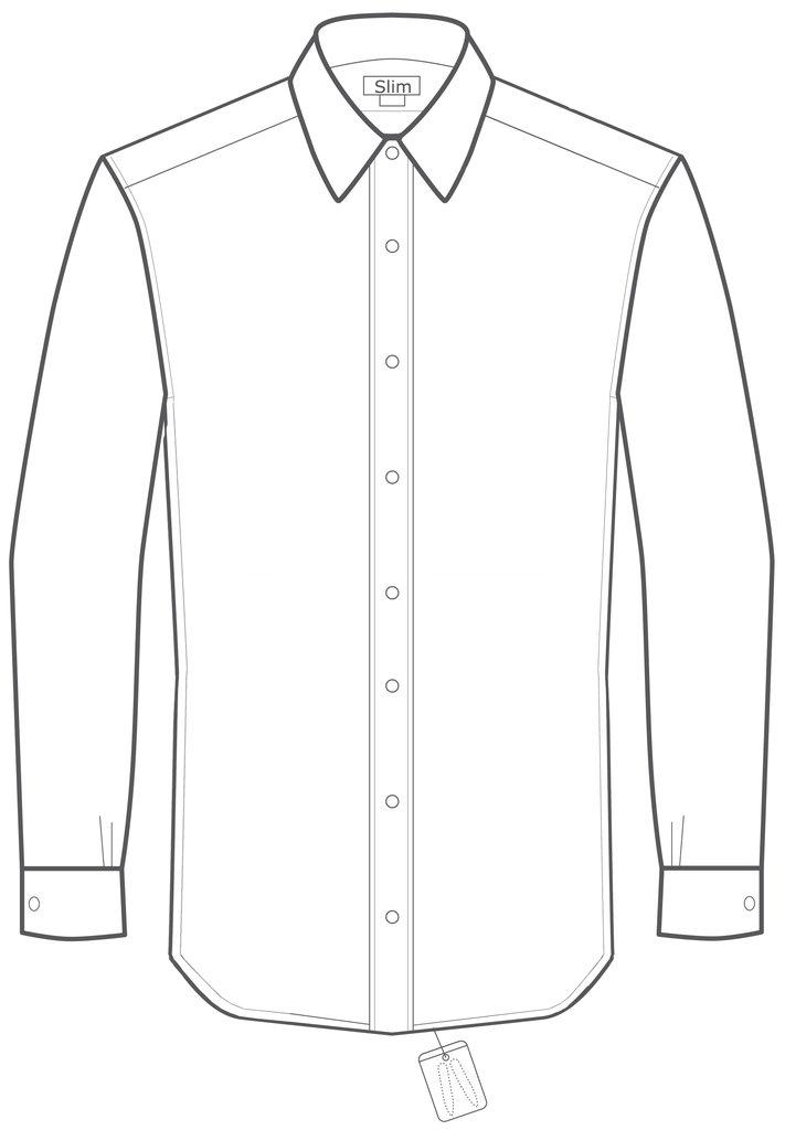 711x1024 Ctr Clothing Tempo Slim Fit Non Iron Dress Shirt Pomeroy's Mens