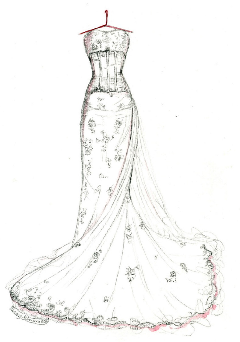 Dresses Drawing At Getdrawings Com Free For Personal Use