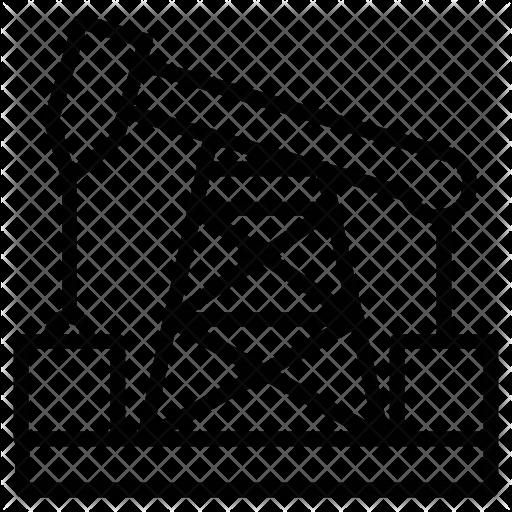 512x512 Drilling Rig Icon
