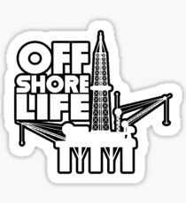 210x230 Offshore Drilling Stickers Redbubble