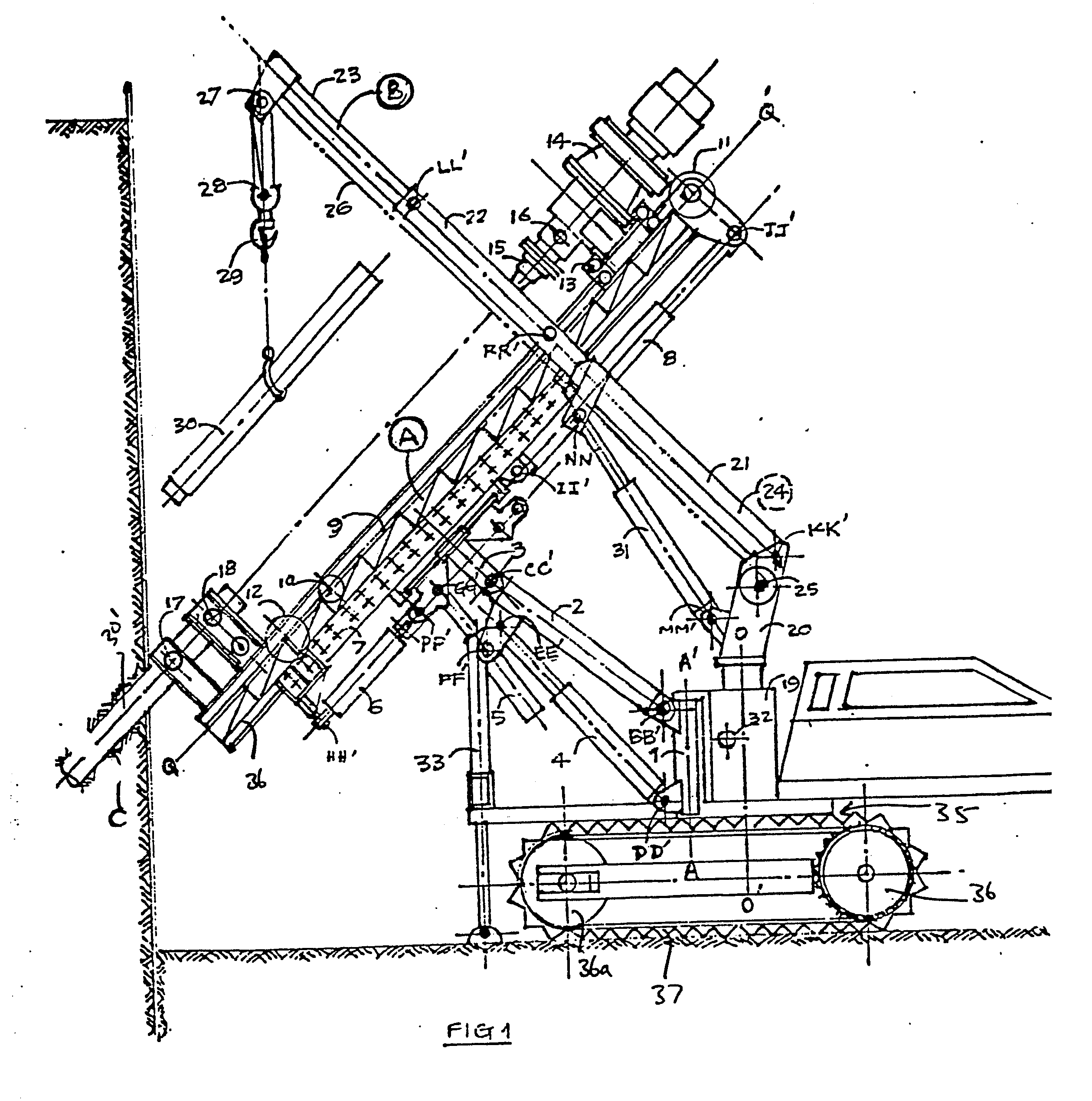 Drilling Rig Drawing At Free For Personal Use Drill Wiring Diagram 2518x2539 Patent Ep0188190a2
