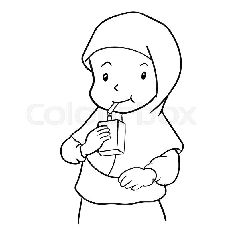 Muslims Drink Milk