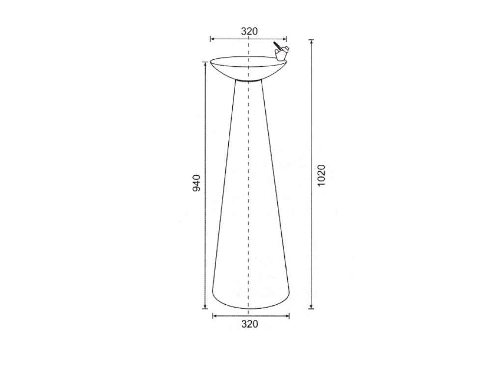 1000x748 Buder Bd 3013 Water Fountain