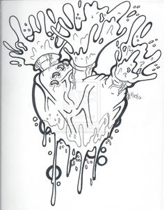 236x303 Bleeding Hearts And Ribs Tattoo Designs Bleeding