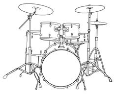 236x192 How To Draw A Drum Set, Cool. Drums Drum Sets