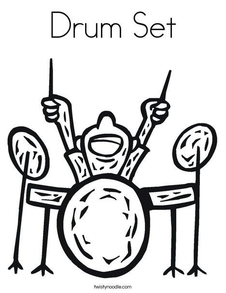 468x605 Drum Set Coloring Pictures Drum Set Coloring Page