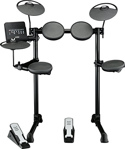 425x509 Yamaha Dtx400k Compact Electronic Drum Set With Free