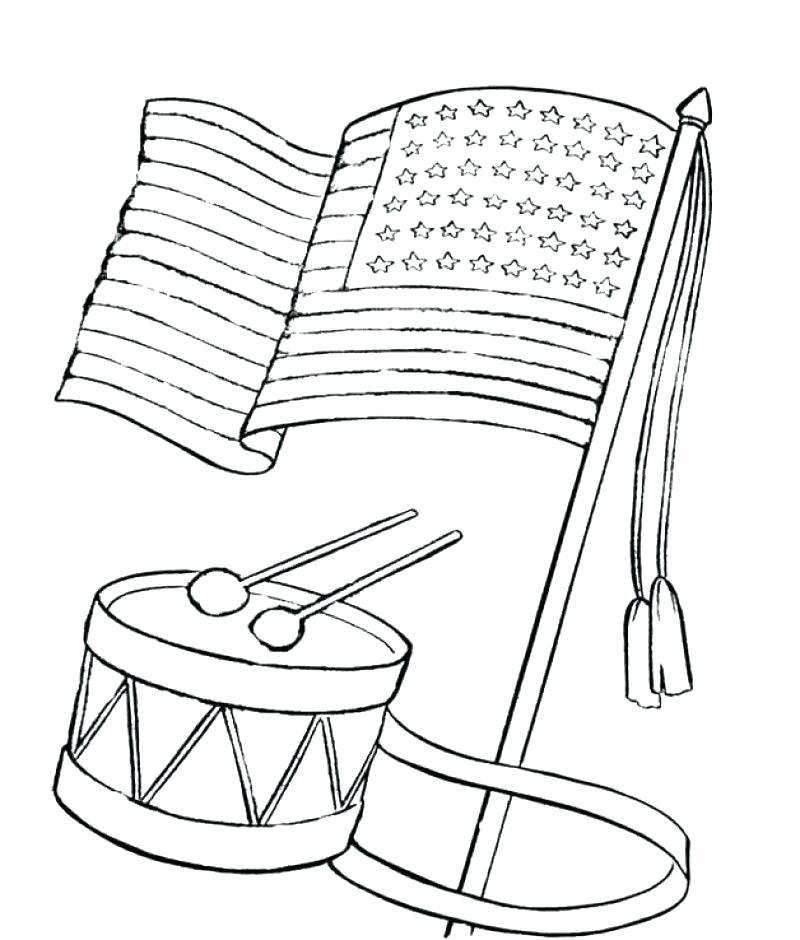800x940 Drums Coloring Page