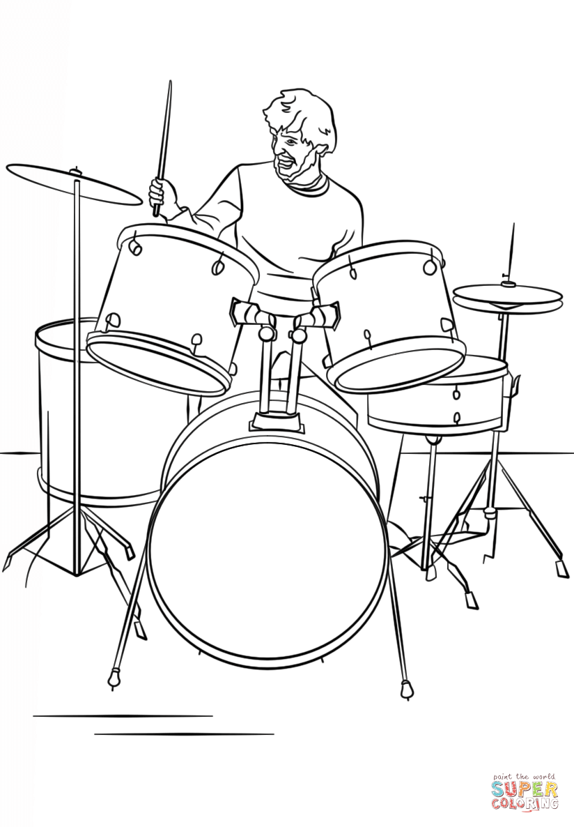 824x1186 Drums Coloring Pages Coloring Page For Kids