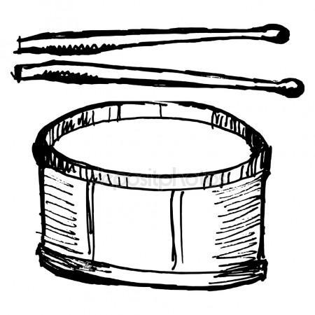 450x450 Drum Kit Sketch Stock Vectors, Royalty Free Drum Kit Sketch